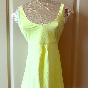 Lucy Brand -,Florescent Yellow Tank Top
